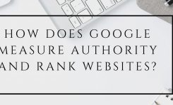 How Does Google measure Authority and Rank Websites?